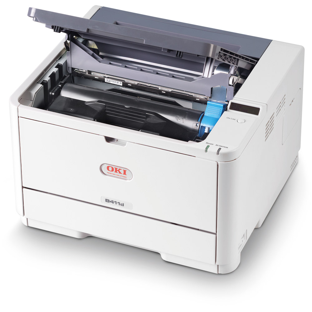 Oki B412dn A4 Mono Led Laser Printer Reid