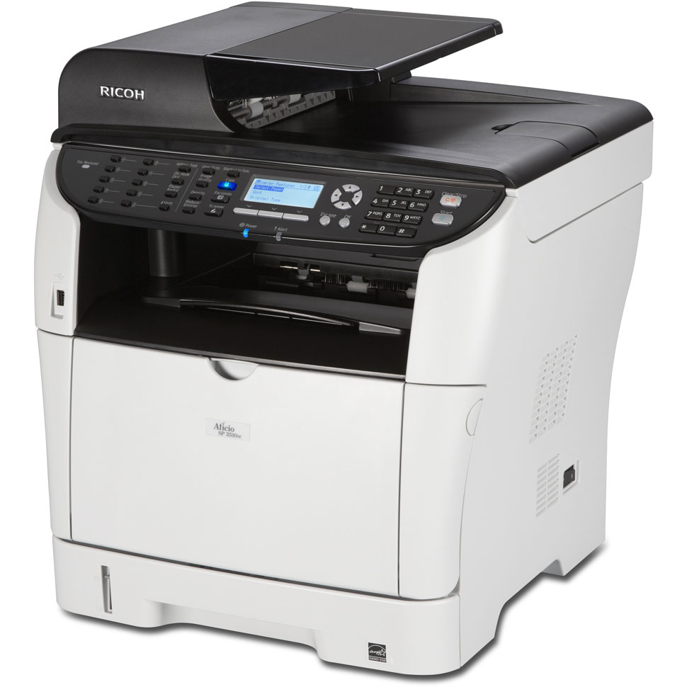how to connect to a ricoh printer